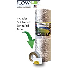 "Reflective Foam Core Insulation Weatherization Kit Roll 24""x 25' ESP Low-E SSR"