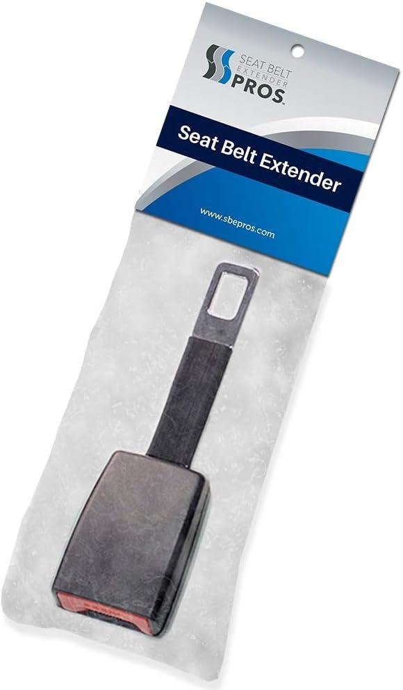 """Rigid E4 Safe Black Chrysler Sebring Seat Belt Extension Adds 5/"""""""