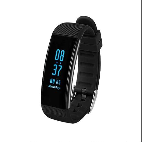 Pulsera Fitness Reloj de pulsera Relojes de pulso Tensiómetro – Rastreador de fitness con podómetro contador