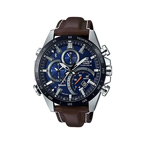 Casio EQB501XBL-2A Edifice Men's Watch Brown 44.4mm Stainless Steel ()