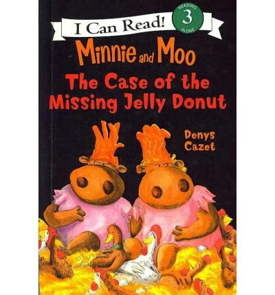 Minnie and Moo and the Case of the Missing Jelly Donut (I Can Read Book)
