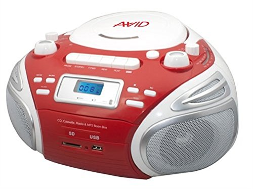 AVID BB-992 Stereo Boom Box with Player by AVID Education
