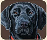 General High Quality Fiddler's Elbow Mia Lane Black Labrador Lab Mouse Pad