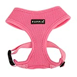 Puppia Soft Dog Harness, Pink, Large