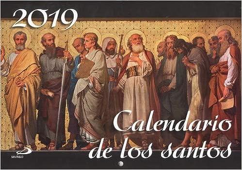 Calendario Pared De Los Santos 2019 por Equipo San Pablo epub