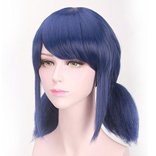 Miraculous Ladybug H Marinette Lady Bug Girl Wig Cosplay