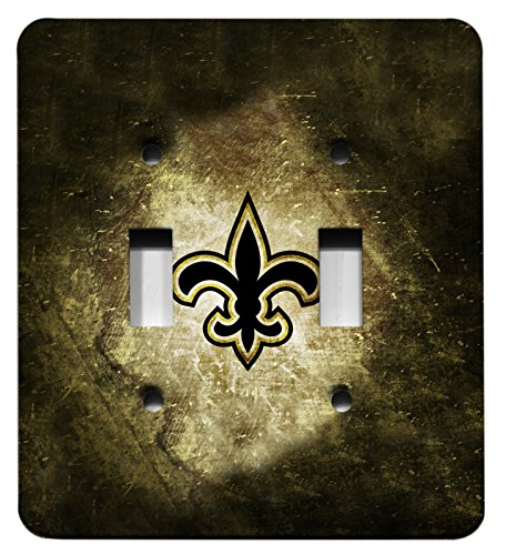 New Orleans Saints Logo Fleurdelis - Double Light