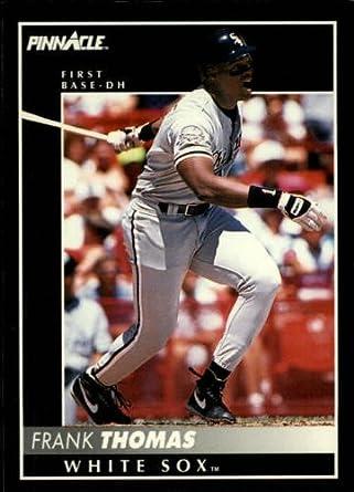 1992 Pinnacle Baseball Card 1 Frank Thomas Mint