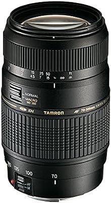 Tamron A17E - Objetivo para Canon (70-300 mm, f/4-5.6, Macro, AF ...