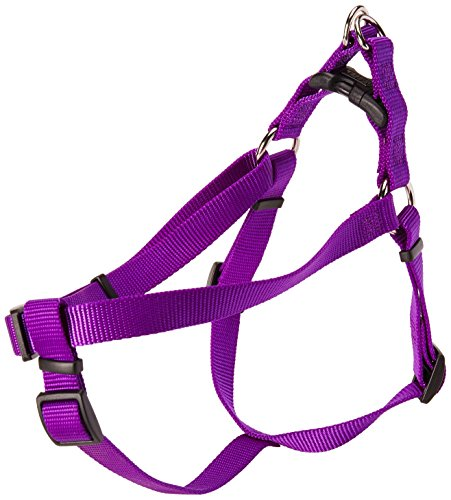 Coastal Pet Products DCP6645PUR Nylon Comfort Wrap Adjustable Dog Harness, 3/4-Inch, Purple