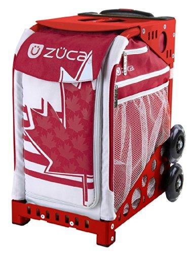 ZUCA Bag Maple Leaf Insert & Red Frame w/ Flashing - Sacks Leaf