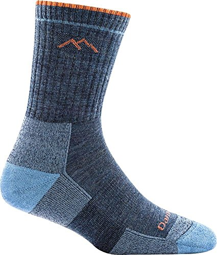 Darn Tough Vermont Women's Merino Wool Micro Crew Cushion Socks made in New England