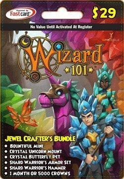 Amazoncom Wizard 101 Jewel Crafters Bundle Prepaid Game Card