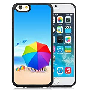 Custom Designed Cover Case For iPhone 6 4.7 Inch TPU With Romantic Beach Phone Case Diy ka ka case