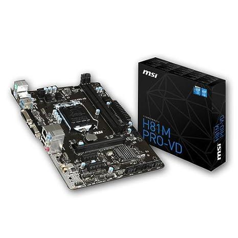 MSI H81M PRO-VD VIA USB 3.0 XP