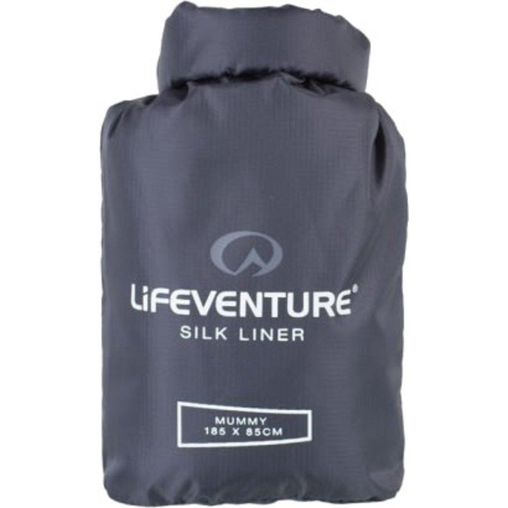 Lifeventure Silk Sleeping Bag Liner Rectangular 65625