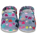 Organic soft soled baby shoes