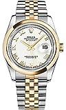 Rolex Datejust 36 White Roman Numeral Dial Jubilee Bracelet 116203