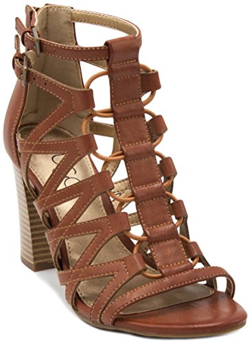 Sugar Women's Estes Strappy Stylish Heeled Sandal with, used for sale  Delivered anywhere in USA