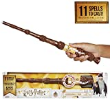 Harry Potter, Albus Dumbledore's Wizard Training Wand - 11 SPELLS To Cast! Official Toy Wand with Lights & Sounds - Wand & Lord Voldemort Wand Also Available