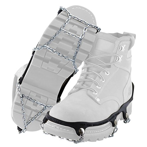 Yaktrax Traction Chains for Walking on Ice and Snow (Pair)