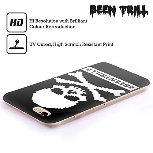Official Been Trill Pixelated Skulls Soft Gel Case for Apple iPhone 6 / 6s