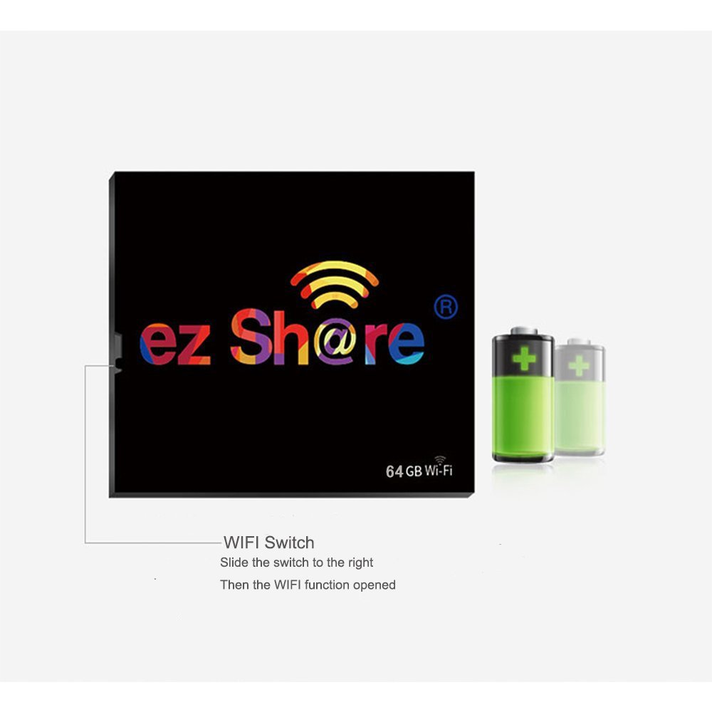 Amazon.com: EZ Compartir Wireless WiFi Compact Flash CF ...