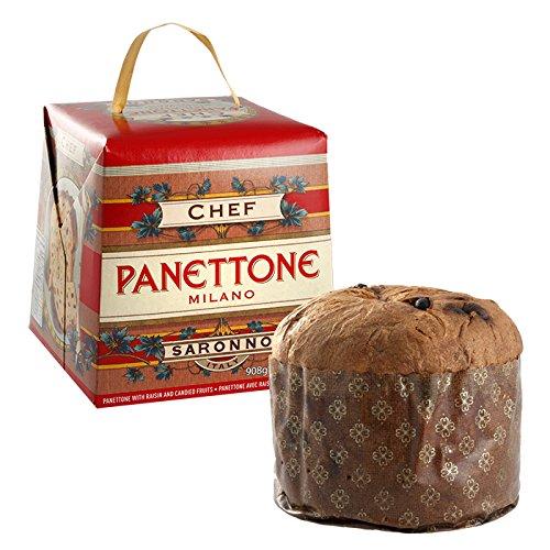 Chiostro di Saronno Traditional Panettone Cake - 2lb (Cake Italian Panettone Christmas)