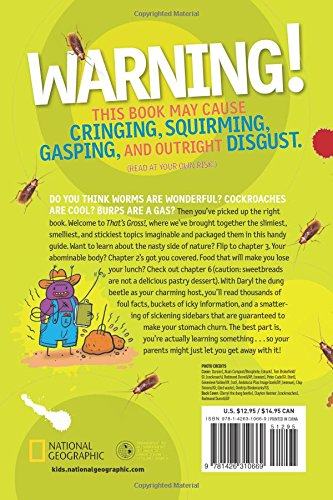 That's Gross!: Icky Facts That Will Test Your Gross-Out Factor (National Geographic Kids) by National Geographic Society (Image #1)