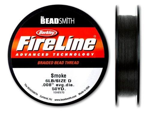 Beadsmith Fireline Braided Thread Smoke