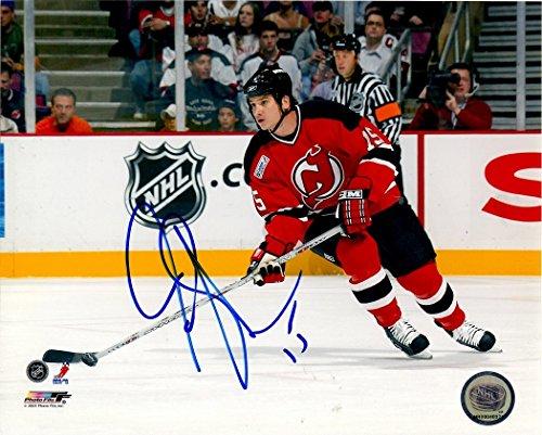 Autographed Jamie Langenbrunner 8x10 New Jersey Devils Photo by Main Line Autographs