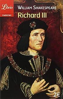 Richard III par Shakespeare