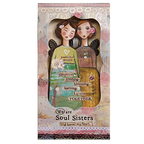Kelly Rae Roberts Angel Ornament Card - SISTER