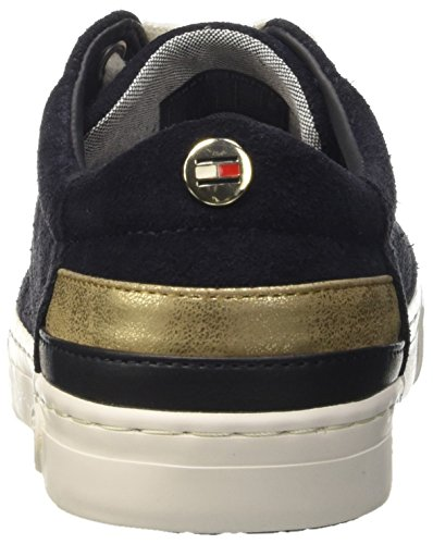 Tommy Basses Bleu Femme Midnight Midnight Hilfiger 1b Sneakers 403 J1285eanne rqwArFT