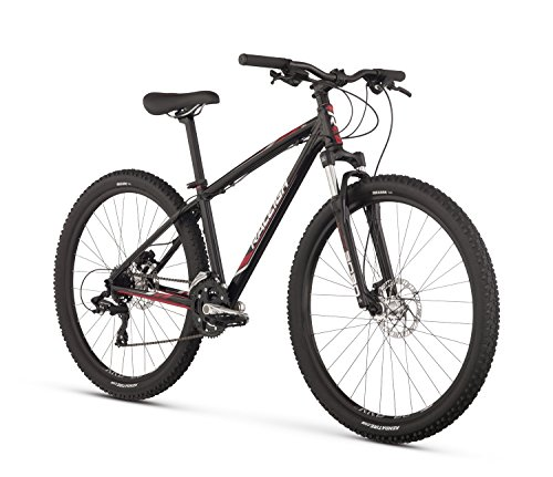 Raleigh Bikes Women's Eva 3 Mountain Bike, 15'/Small, Black