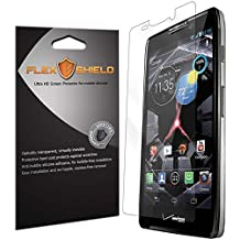 Motorola Droid RAZR HD Screen Protector [5-Pack][XT926], Flex Shield - Ultra Clear Japanese PET Film with Lifetime Warranty - Bubble-Free HD Clarity with Anti-Fingerprint & Scratch Resistance