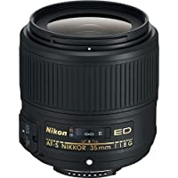 Nikon AF-S FX NIKKOR 35mm f/1.8G ED Fixed Zoom Lens with Auto Focus for Nikon DSLR Cameras International Version (No warranty)