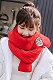 Generic Korean_style_of autumn winter _Knitting_ scarves scarf _for_ girls_ fashion _label_cloth,_warm_long,_pure_sex_heroes_ shawls scarves scarf _wai_also