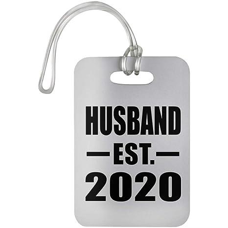 Best Gifts For Parents 2020 Amazon.  Husband Established EST. 2020   Luggage Tag Bag gage