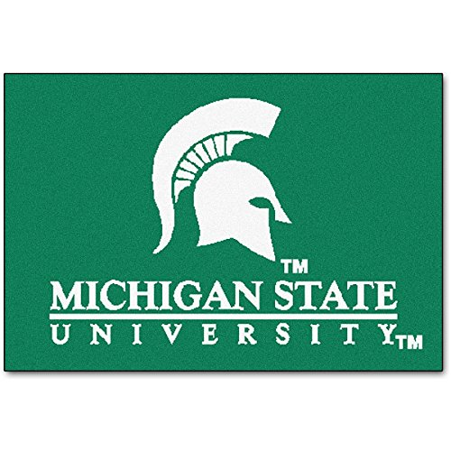 - FANMATS Michigan State Spartans Starter Rug