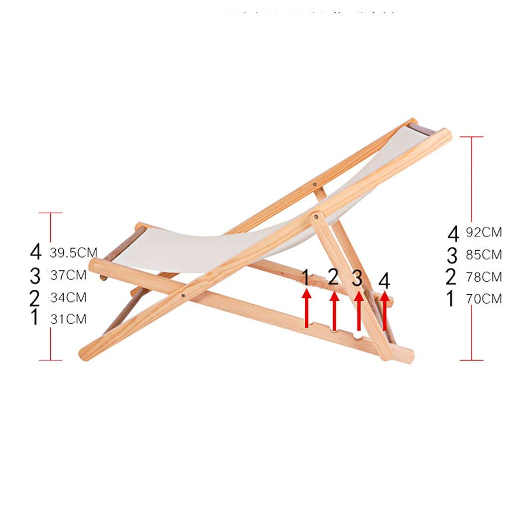 Amazon.com: DYQTY Solid Wood Chair Portable Outdoor Folding ...