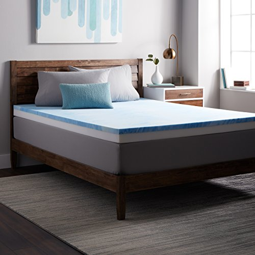 Select Luxury Combo 4-inch Gel Memory Restore-a-Mattress Medium Firm Topper Twin by Select Luxury
