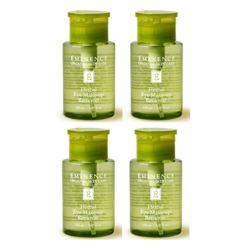 Eminence Herbal Eye Make-Up Remover, 5.07 Ounce (4pack) by