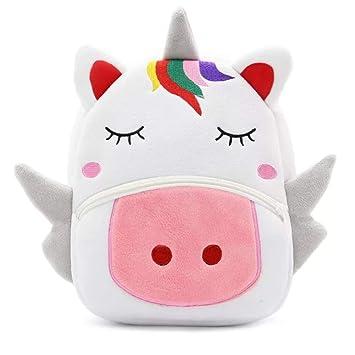 Mochila Unicornio para niños - Mochila cómoda y esponjosa Viajes, jardín de Infantes y Escuela: Amazon.es: Equipaje
