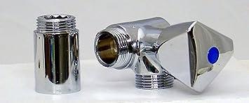 geräteanschluss ventil für küche wand wasserhahn 3/4 zoll: amazon ... - Wasserhahn Küche Mit Geräteanschluss