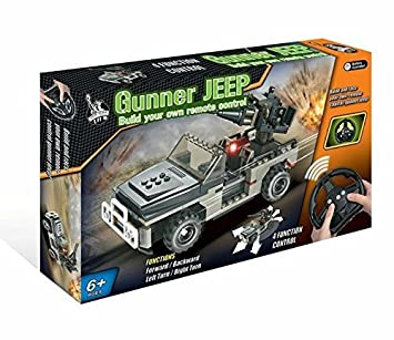 Build Your Own Remote Control Gunner Jeep (NY1276)   Paroh
