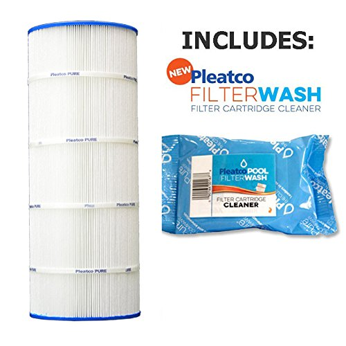 (Pleatco Cartridge Filter PXST150 150 sq ft Hayward X-Stream CC1500 w/ 1x Filter Wash)