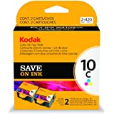 Kodak 1022854 Company Color10c Ink Cartridge Two-Pack
