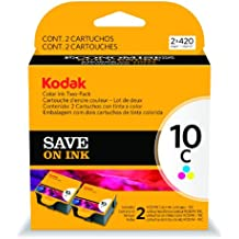 EASTMAN KODAK COMPANY COLOR10C INK CARTRIDGE TWO-PACK