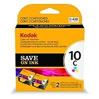 EASTMAN KODAK COMPANY COLOR10C INK CARTRIDGE TWO-PACK